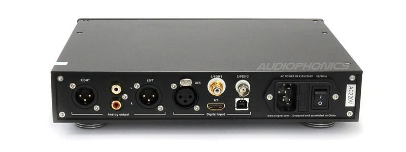 Singxer SDA-1 connectique