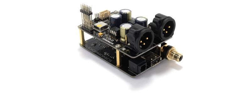 module DAC X20-XLR avec X10-I2S