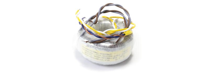 Transformateur torique 4VA 2x15v 2x6v