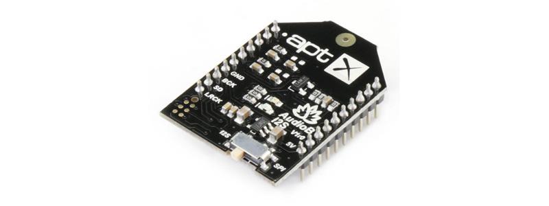 TinySine AudioB I2S Module Récepteur Bluetooth aptX SMA