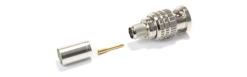 CANARE L-5.5CUHD Câble Coaxial Ultra Faible Perte 75Ω Blindé Hautes Performances Ø 7.7mm