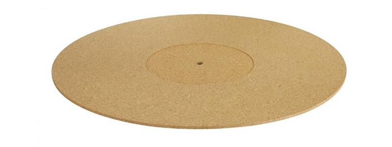 Dynavox PM3 Couvre plateau en liège pour platine vinyle