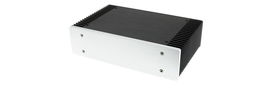Boîtier DIY 100% Aluminium 147 x 105 x 42mm Noir