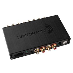 Dayton Audio DSP-408 Processeur de Signal Numérique DSP ADAU1701 SigmaDSP 25/56bit 4 vers 8 Canaux