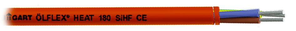 Lapp Kabel Olflex Heat Câble Triple Conducteurs Souple 0.75mm² Rouge