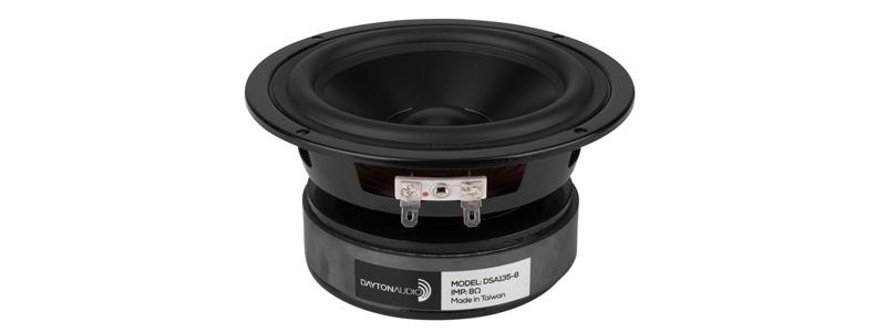 Dayton Audio DSA135-8 haut-parleur de grave aluminium 50w 8 ohm 87db 13cm