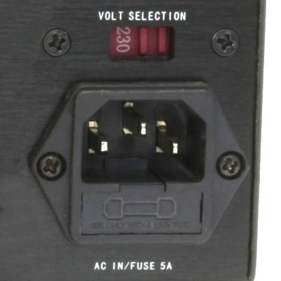 voltage selector input