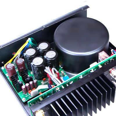 regulated linear power amplifier supply