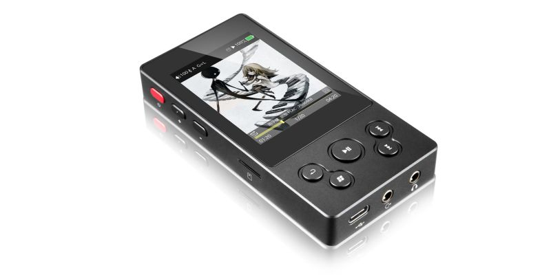 MP3 Player with screen audio flac