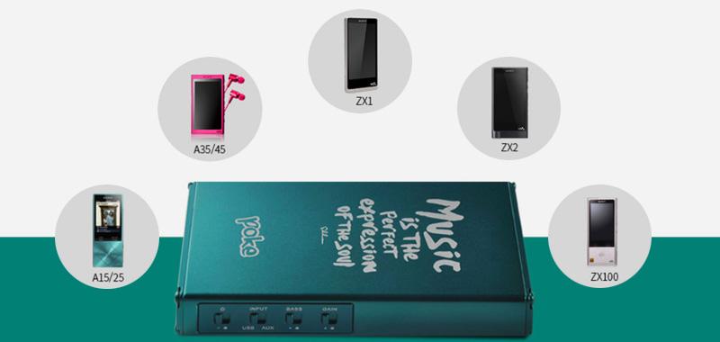 xDuoo XD-10 poke compatible Walkman sony