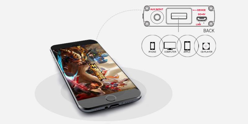 xDuoo XD-10 poke compatible avec tous les appareils