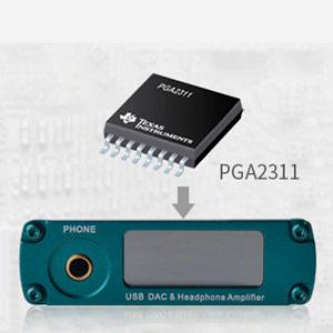 xDuoo XD-10 Poke contrôle de volume efficace avec PGA2311
