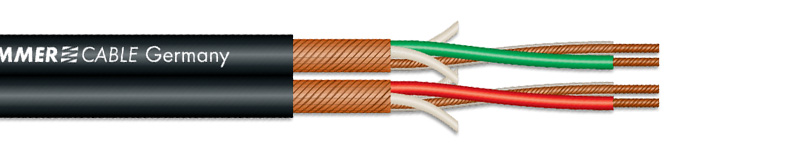 Sommercable Peacock MKII Câble de modulation Cuivre OFC AES/EBU Microphone 4 x 0.22mm²