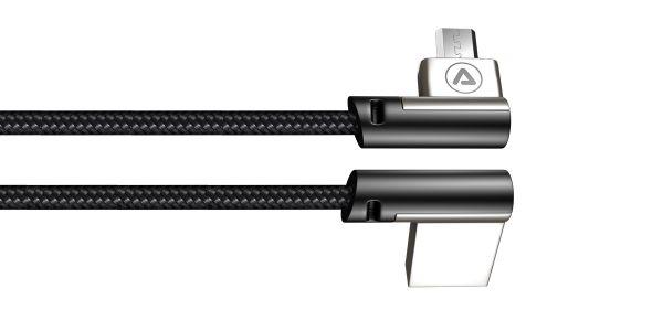 Micro USB cable metal