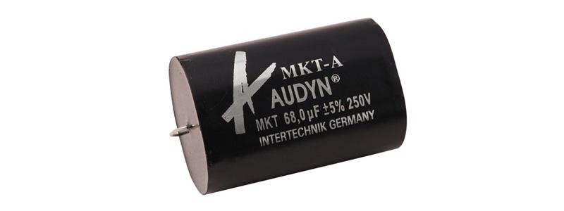 Audyn MKT-A Condensateur MKT Axial 100v 22µF