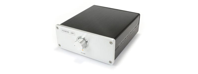 Préamplificateur passif contrôle de volume atténuateur à relais XLR RCA