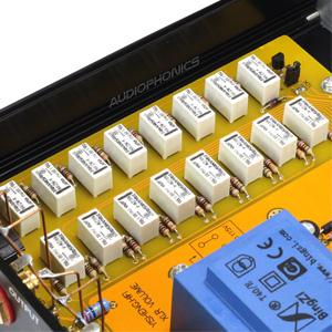 Préamplificateur passif atténuateur de volume à relais