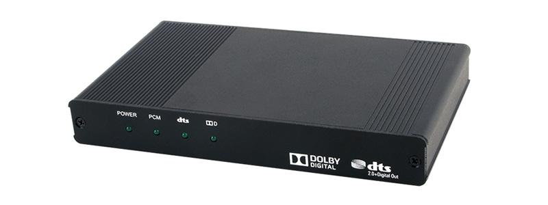 CYP CPRO-SE2DD Convertisseur HDMI UHD DTS Dolby Digital vers SPDIF RCA