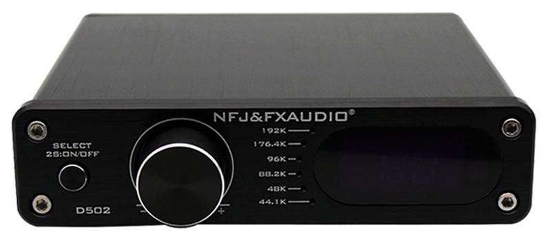 FX-Audio D502 Amplificateur FDA Sortie Subwoofer TAS5342 2x45W 8 Ohm