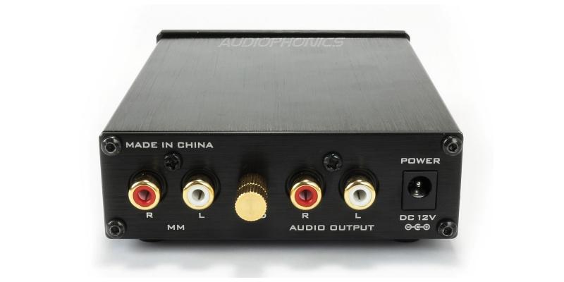 Préampli lecteur vinyle phono platine redresseur de signal