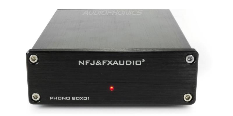 Préamplificateur redressement de signal lecteur Phono FX Audio