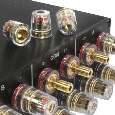 Terminal speaker audiophile grade