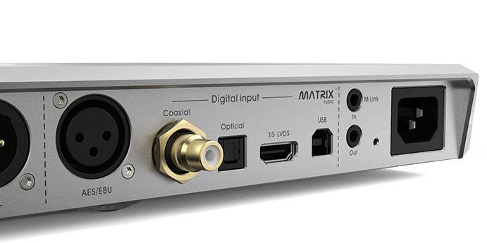 X-saber Matrix pro audio DAC AES, I2S, LVDS, Optical, Coax ...
