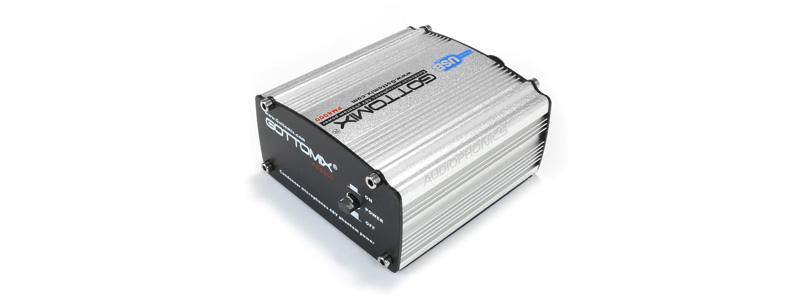 Gottomix PM8000 Alimentation Fantôme 48V pour Micro à Condensateur XLR USB