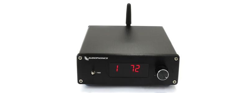 Audiophonics PGA2310 Préamplificateur Contrôle de Volume Sélecteur de Source RCA Bluetooth 4.2
