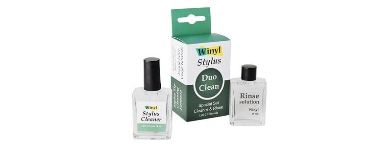 Winyl Stylus Duo Clean Solutions de nettoyage et rinçage pour diamants de platines vinyles