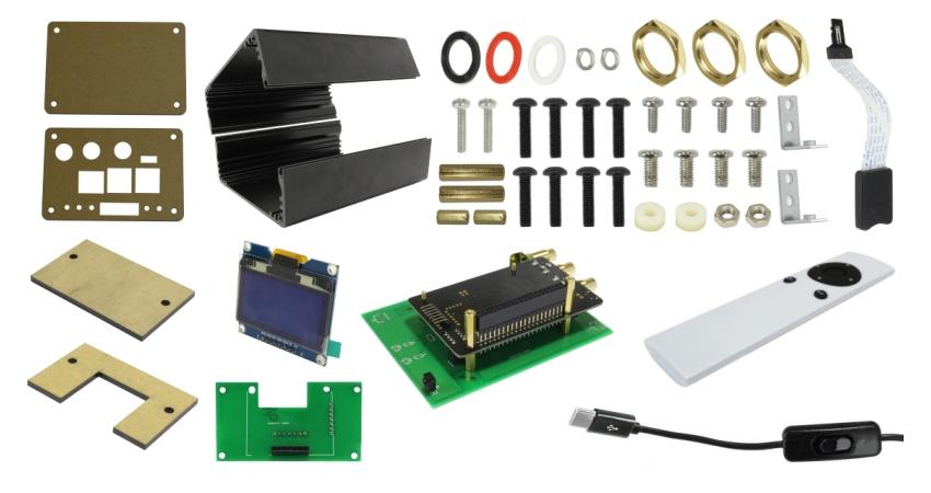 Parts supplied mini kit raspdac