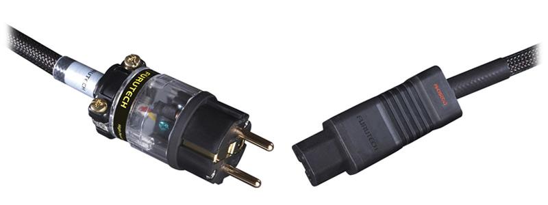 Furutech Odeon-E Câble Secteur Cuivre / Argent Traitement Alpha 1.8m