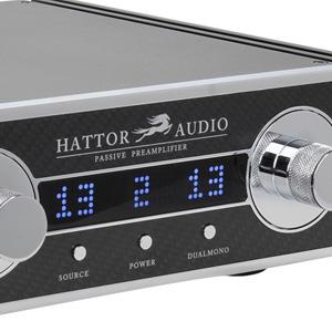 Hattor Audio Preamplificateur symétrique passif atténuateur Khozmo Takman Rex