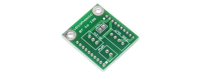 TINYSINE PCB-I2S PCB pour Récepteur Bluetooth I2S