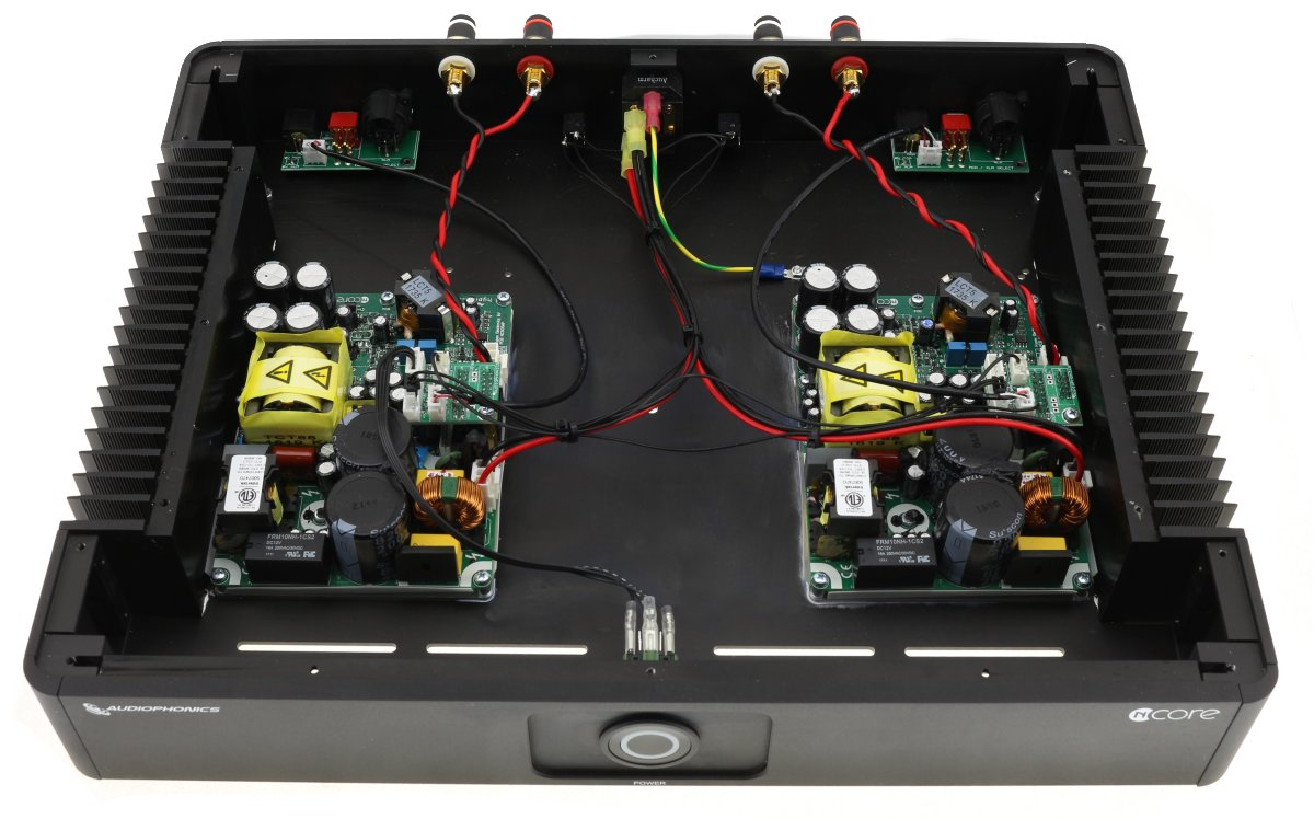 assembled NC500MP power amplifier