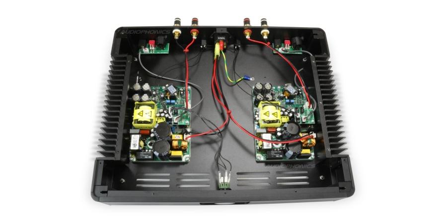 assembled NC500MP power amplifier