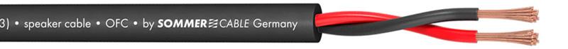 Sommercable Meridian SP255 Câble Haut-Parleur Cuivre OFC FRNC 2x2,5mm² Ø 8mm
