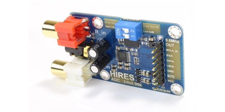 ADC Analog to Digital Converter AKM5720 I2S 24Bit / 96kHz