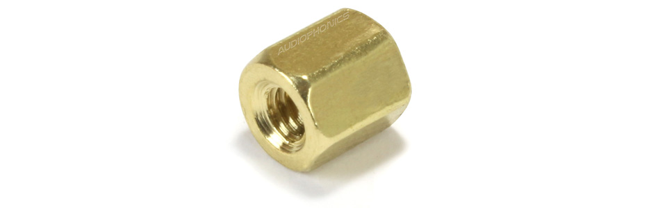 Brass Spacers M2.5x5mm Femmale / Female (x10)