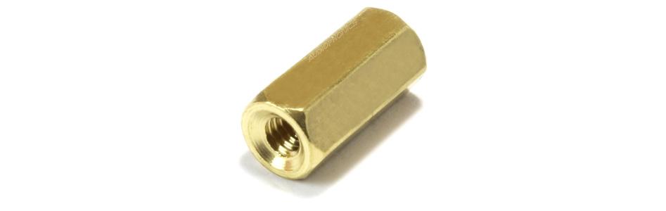Entretoises Laiton M2.5x10mm Femelle / Femelle (x10)