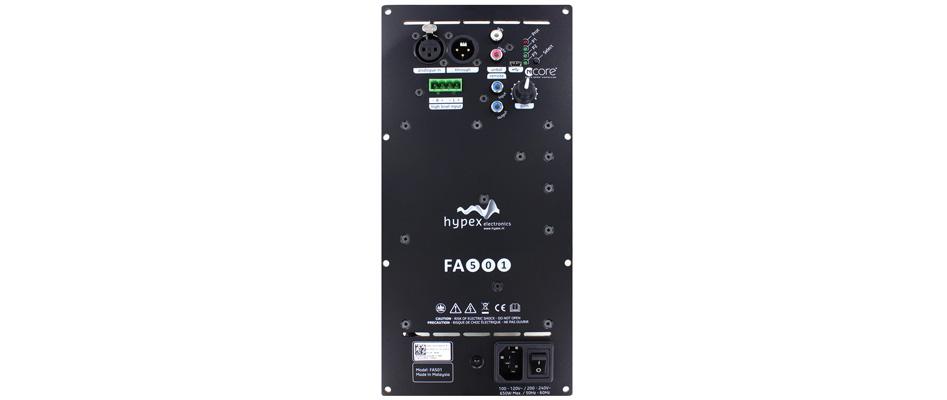 Hypex FusionAMP FA501 Amplificateur NCore Plaque 1x500W DSP ADAU1450 DCC AK4454 192kHz