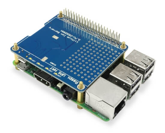BMS battery management board for Raspberry PI SBC