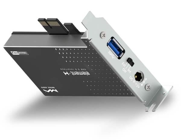 MATRIX ELEMENT H USB controler 3 0 Femtoclock Crystek power