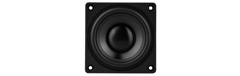 DAYTON AUDIO DMA70-4 Haut-Parleur Large Bande Aluminium 20W 4 Ohm 86.2dB 120Hz - 20kHz Ø 6.3cm