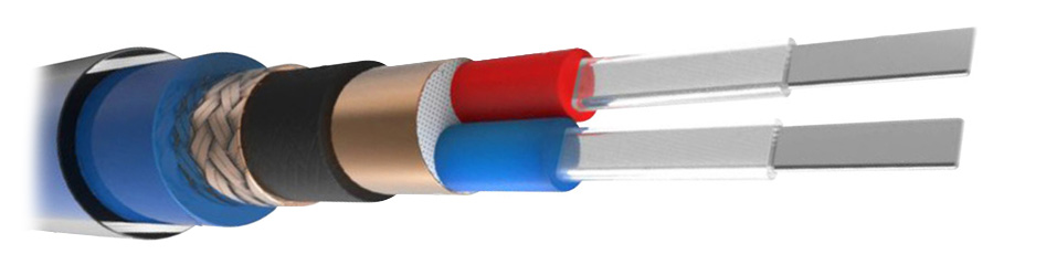 NEOTECH NEMOI-1220 Câble de Modulation Argent UP-OCC Blindé Ø10mm