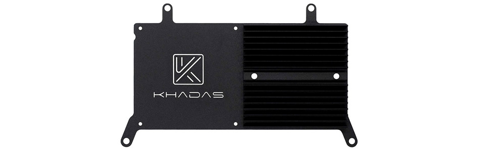 Dissipateur thermique Aluminium pour Khadas VIM