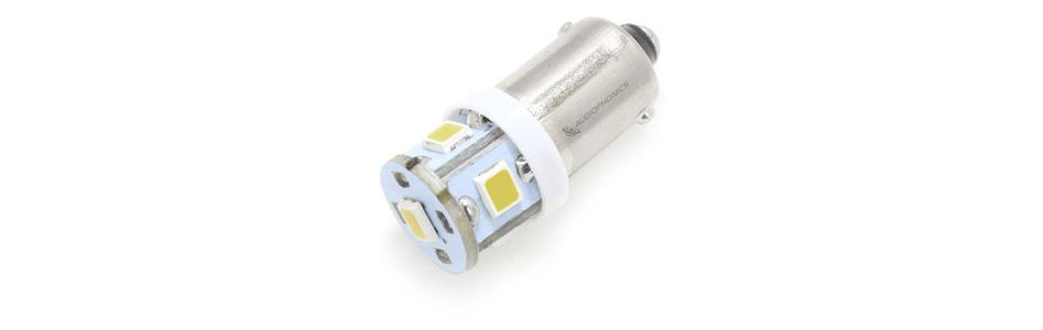 Ampoule LED Blanc Chaud pour Éclairage Vu-Mètre / Tuner 6.3V