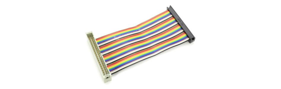 Nappe d'Extension GPIO Mâle / Femelle 40 Pins pour Raspberry Pi 10cm