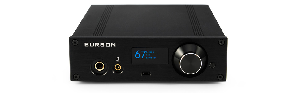 BURSON AUDIO PLAYMATE Amplificateur Casque Class A PC / DAC ES9038 XMOS / Préamplificateur 32bit 384kHz DSD512