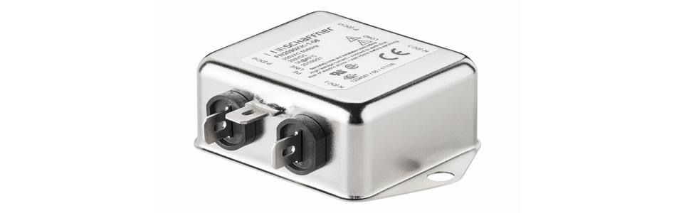 Schaffner FN2090-3-06 Filtre Secteur Anti-Parasites 230V 3A
